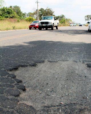Sin atención libramiento sur de Tapachula