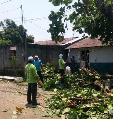 PC realiza trabajos de prevención en colonias de Huixtla