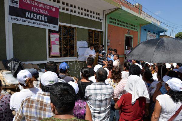 Se calienta Mazatán por conflicto electoral