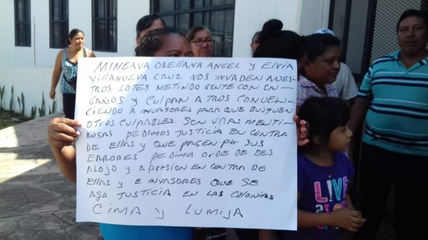 """Paracaidistas mantienen invasión de predios """"Cima y Lumijá"""""""