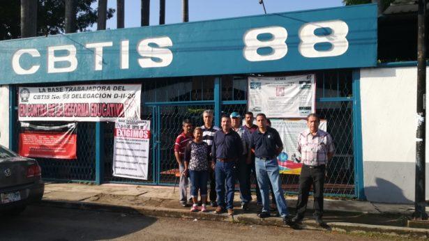 Siguen los problemas en CBTis-88