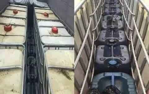 Transportaban hidrocarburos