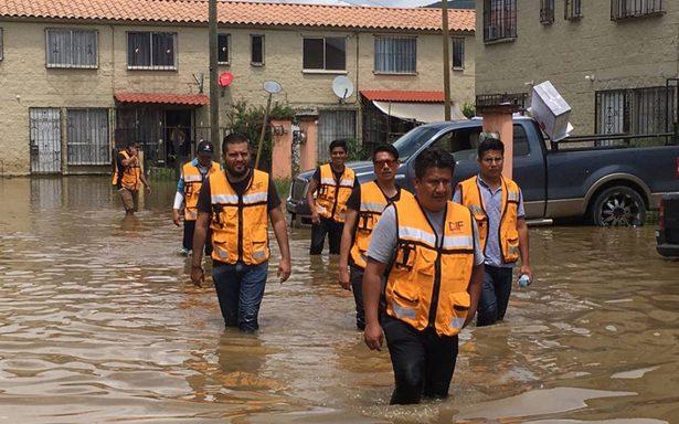 Lluvias provocan inundaciones y graves daños en Oaxaca