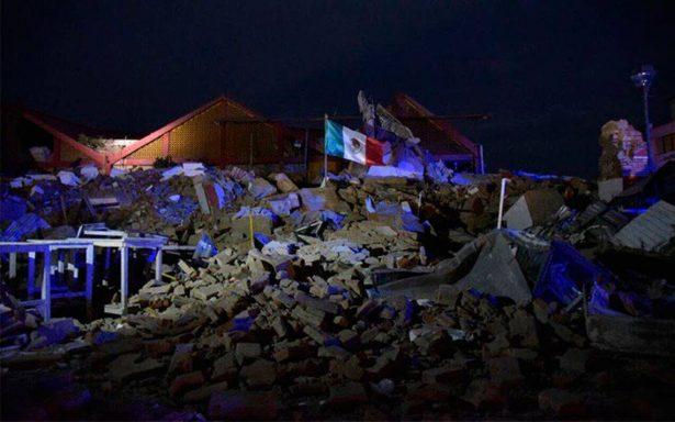 Fuerte sismo de 8.2 grados estremece a México