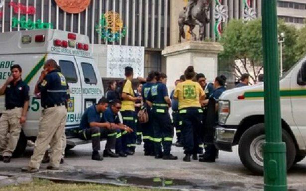 Para labores Cruz Verde de Monterrey