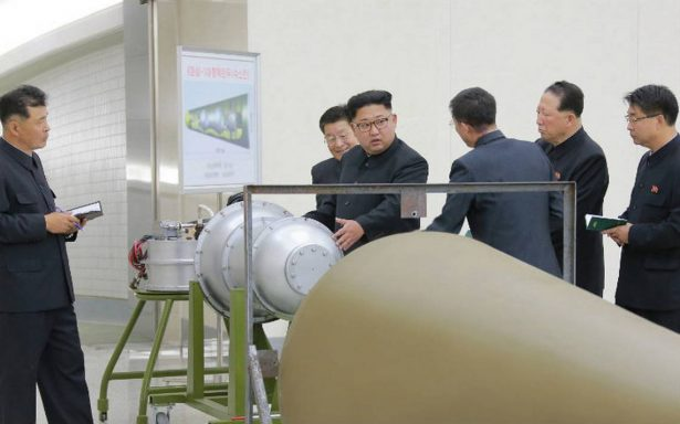 Corea del Norte lanza bomba de hidrógeno