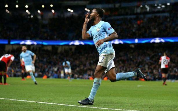 Manchester City sale del bache y vence al Feyenoord