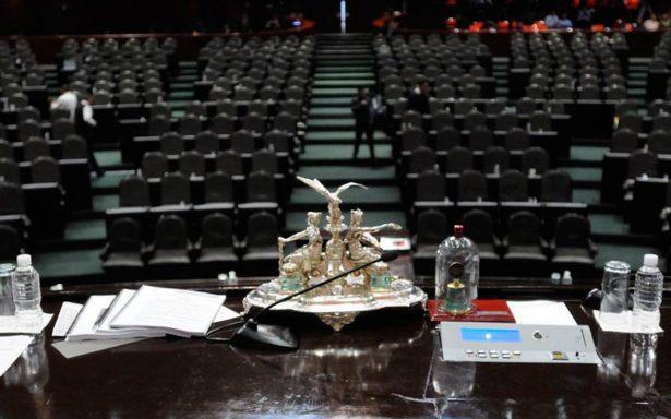 PRI pierde votación; decretan receso en Cámara de Diputados