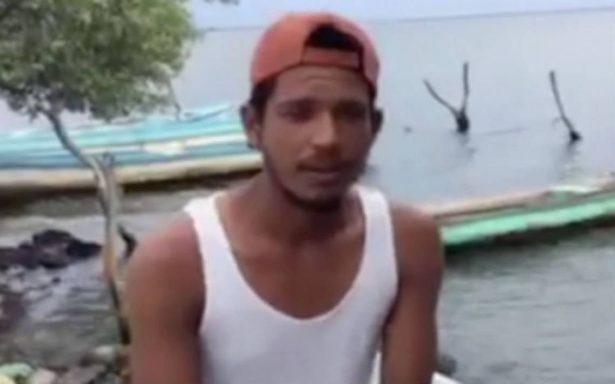 [Video] Así vivió un pescador el terremoto desde altamar