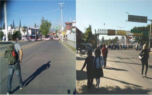 Bloqueos de la CTM paralizan Oaxaca tras detención de su líder