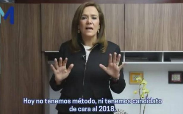 Ricardo Anaya debe renunciar, es factor de división: Margarita Zavala