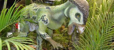 """Inauguran """"Dinosauria Animatronix"""" en el Parque Bicentenario"""