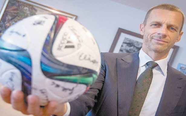 Aleksander Ceferin, apoya el proyecto presentado por la Liga inglesa