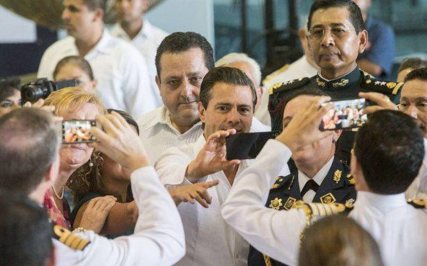 El PRI no elegirá a su candidato por elogios o aplausos: Peña Nieto