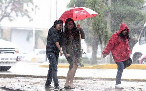 Persisten tormentas de fuertes a intensas en la mayor parte del país