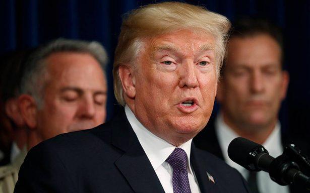 Trump cree que su twitter fue suspendido por el impacto de sus palabras