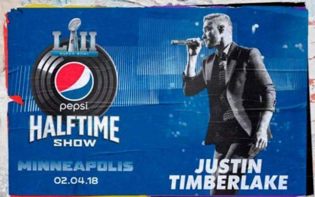 Justin Timberlake al medio Tiempo del Super Bowl Lll