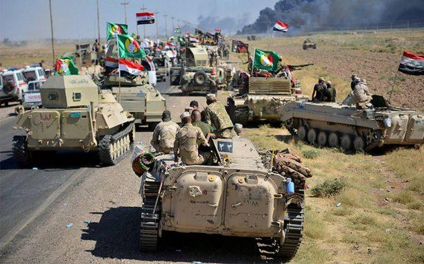 Fuerzas iraquíes lanza un ataque final contra el Estado Islámico