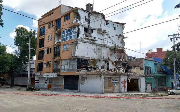 Hoy inician demolición de edificio en Concepción Béistegui y Yácatas
