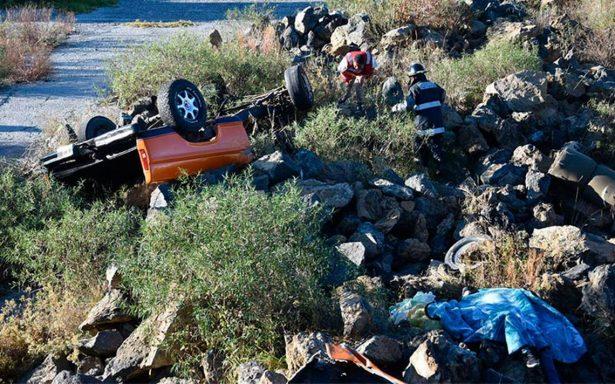 Fatal accidente deja dos niños muertos en carretera Huamantla-Apizaco