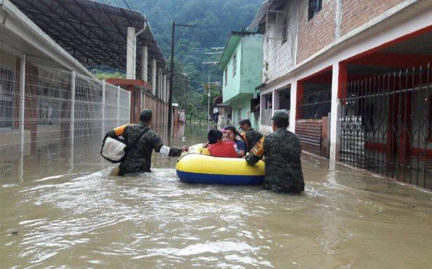 Sedena aplica Plan DN-III E en Veracruz y BCS por tormenta Lidia