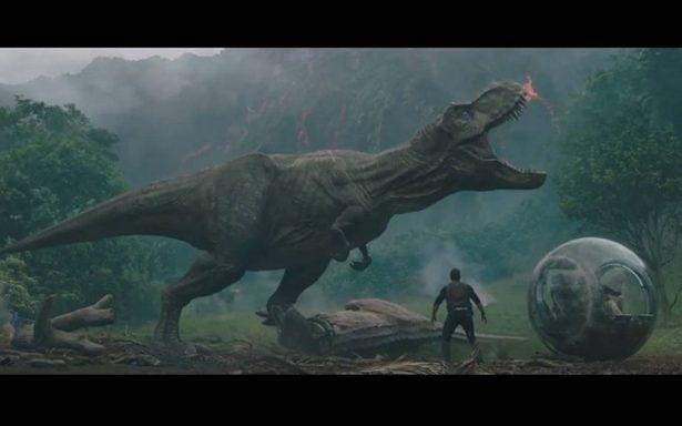 Chris Pratt desata la furia de un T-Rex en nuevo avance de Jurassic World