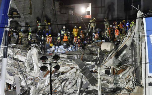 Tareas de rescate se complican en Álvaro Obregón; estructura podría colapsar