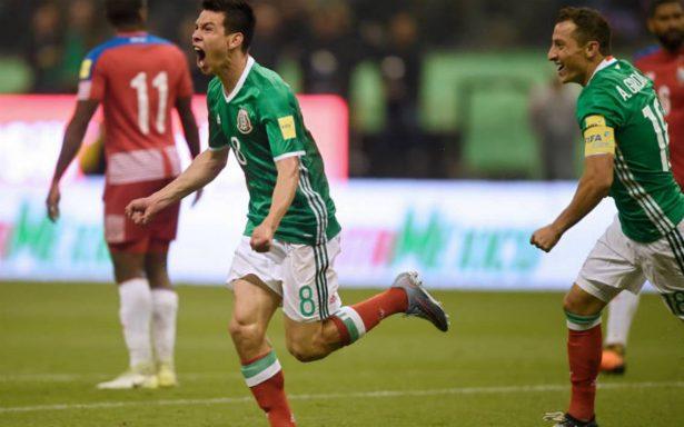 ¡Vamos al mundial! México ya está en Rusia 2018