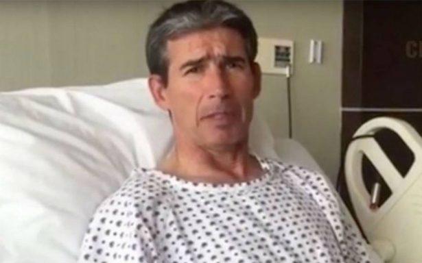 """[VIDEO] """"Yayo"""" de la Torre explica los motivos de su hospitalización"""