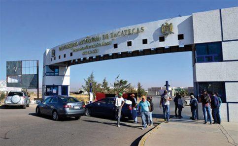 Paro de académicos en la Universidad Autónoma de Zacatecas