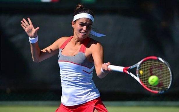 Ana Sofía Sánchez avanza a la final de tenis en Holanda