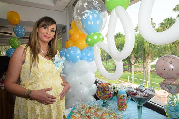 Baby shower para Lupita Septién de Vargas