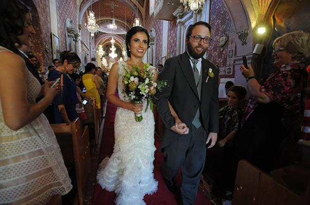 Nupcias de María González y Bryan Gerber