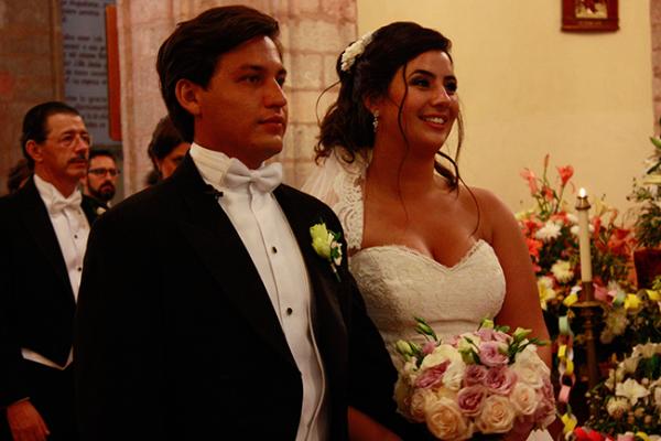 Boda de Patricia Zepeda y Mauricio Alcalá