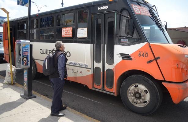 Ortiz propone ampliar a las 24:00 horas el transporte público