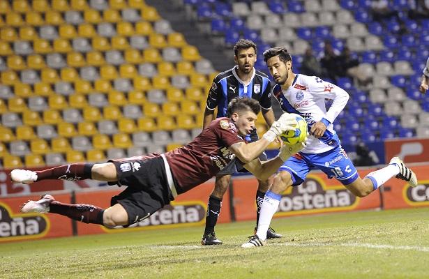 Tiago Volpi sacó el pecho a las balas tras el mal inicio.