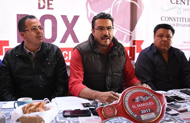 """Anuncian Torneo de box """"Centenario"""" en El Marqués"""