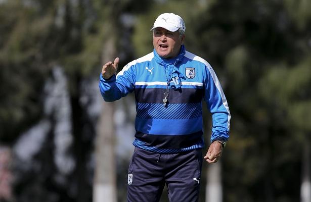 Vucetich manifestó que hasta el momento su equipo ha hecho buenas cosas y deberán seguir así en la liga, por lo que espera que lo puedan demostrar en el duelo ante Puebla.