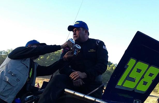 RAÚL CASTILLA buscará refrendar el título dentro del campeonato Car Cross Quaker State México, por lo que ya se encuentra alistando su auto.