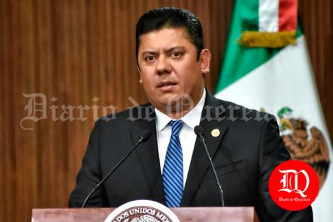 El presidente de la Mesa Directiva de la Cámara de Diputados, Edmundo Javier Bolaños Aguilar. Foto: Adrián Donantonio