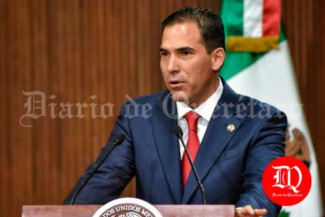 presidente de la Mesa Directiva de la Cámara de Senadores, Pablo Escudero Morales. Foto: Adrián Donantonio