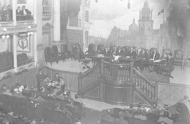 Sesión del Congreso.