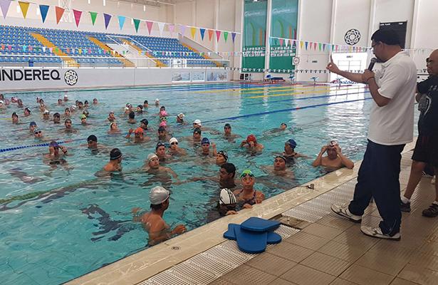 UN TOTAL de 141 entrenadores participaron en la capacitación que se llevó a cabo a mediados de abril, pero que sin duda les servirá de mucho.