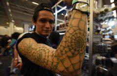 Galería 📸.Tatuajes de superhéroes en la Conque