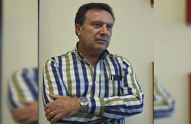 """""""Me parece que es una coincidencia, insisto, estos cambios se dan en otras delegaciones"""", dijo Naredo. (Foto: Fernando Reyes)."""