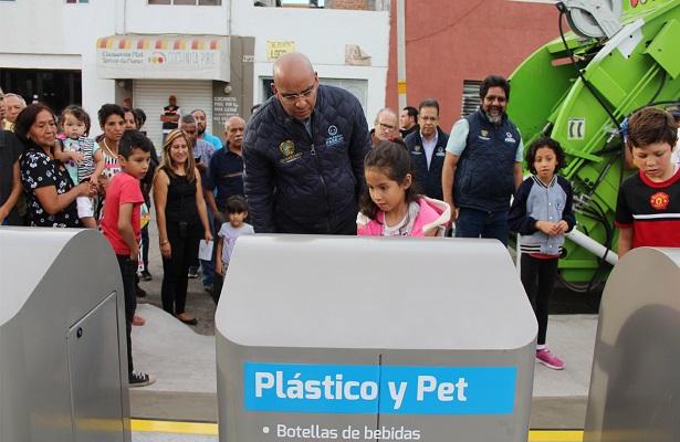 Se construye planta de separación para reciclar 70% de basura