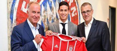 James Rodríguez, feliz en su nueva aventura con Bayern Munich