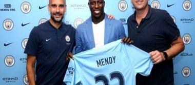 Benjamin Mendy ficha por el Manchester City