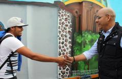 Inauguran galería de arte urbano