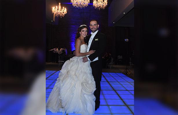 Elegante boda de Estefanía Rubín y Gerar Kirchner